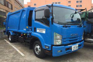塵芥車(パッカー車、産業廃棄物 10m3)